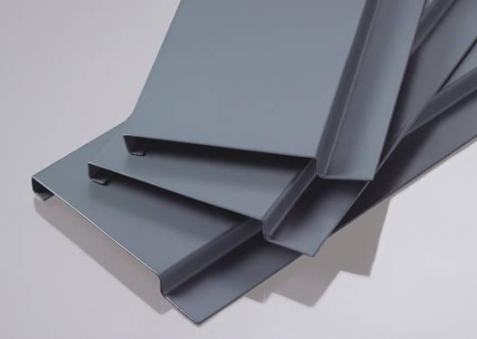 Trần nhôm- kim loại sọc G Shaped